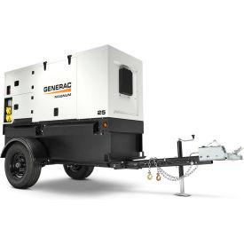 Magnum MMG25IF4-STD, 22000/23000 Watts, Towable/Backup Generator, Diesel, Electric Start, 1-Ph/3-Ph
