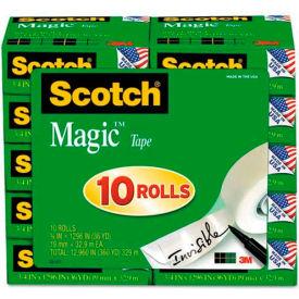 """Scotch® Magic Tape Value Pack, 3/4"""" x 1000"""", 10 Rolls/PK"""