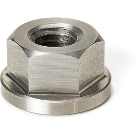"1-8 Hex Flange Nut 1-5/8"" Hex 2"" Flange Dia. 1-1/4"" Height Stainless Steel CN-60SS by"