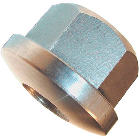 "3/4-10 Spherical Hex Flange Nut 1-1/4"" Hex 1-5/8"" Flange Dia. 1"" Height Stainless Steel by"