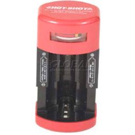 Hot-Shot Battery Tester R104, Tests AA, AAA, C, D, & 9-Volt Batteries