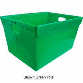 Corrugated Plastic Nestable Tote, 24x17-1/2x13, Yellow (Min. Purchase Qty 44+)