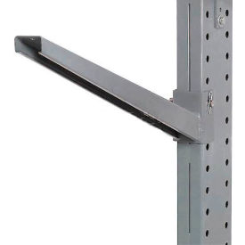 """Modern Equipment 2IA12 Cantilever Rack Inclined Arm No Lip (2000 Series), 12"""" Long"""