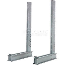 "Modern Equipment 2U2038 Cantilever Rack Single Sided Upright (2000 Series), 38""D x 20'H"