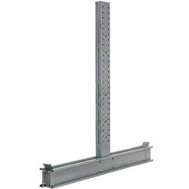 "Modern Equipment DU14130-NS Cantilever Rack Double Sided Upright (3000 Series) 130""W x 14'H"