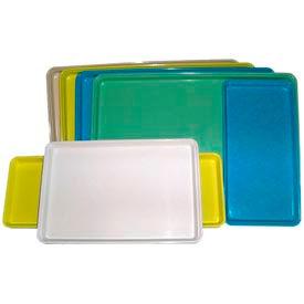 "Molded Fiberglass Color Coded Display Tray 332008 -18""W X 26""L, Pkg Qty 12, Yellow - Pkg Qty 12"
