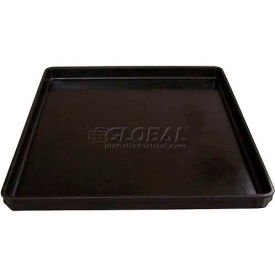 """Molded Fiberglass 8480005167 ESD Stacking Box, Top Overall 26""""L x 20""""W x 1-1/2""""H"""