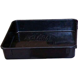 "Molded Fiberglass Fibrestat ESD Nesting Box 924100 - 9-3/4""L x 9-1/4""W x 2-1/8""H"