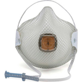 Moldex 2700N95 2700 Series N95 Particulate Respirators with HandyStrap & Ventex Valve, 10/Box
