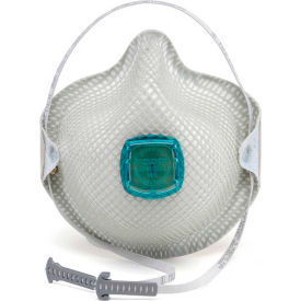 Moldex 2730N100 2730 Series N100 Particulate Respirators with HandyStrap, 5/Box