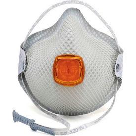 Moldex 2800N95 2800 Series N95 Particulate Respirators with HandyStrap, Medium/Large, 10/Box