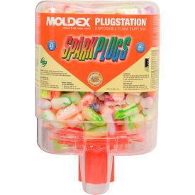 Moldex 6644 SparkPlugs® PlugStation® Earplug Dispensers, 250 Pairs/Dispenser