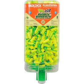 Moldex 6647 Goin' Green® PlugStation® Earplug Dispensers, 500 Pairs/Dispenser