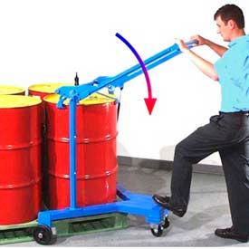 Morse® Drum Spotter & Palletizer Model 81 - 55 Gallon Rimmed Drum - 800 Lb. Capacity