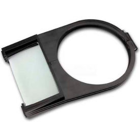 Moffat Shade Mounted Magnifier, 95105, Dual Lens, 2X & 4X Magnification