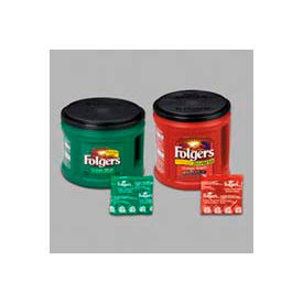 Folgers® Premeasured Decaffeinated Coffee Packs,  0.9 oz., 42/Carton