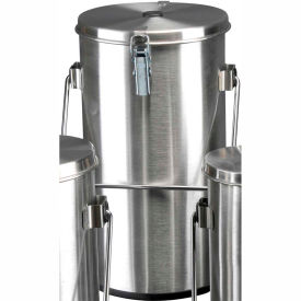 Thermo Scientific Thermo-Flask Benchtop Liquid Nitrogen Container with Lid and Handle, 4.51 Liters by
