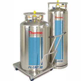 "Thermo Scientific LN2 Supply Tank, 50 Liters, 16"" Dia. x 41""H"