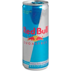 Red Bull® Energy Drink, Original, Sugar-Free, 8.3 oz., 24/Carton