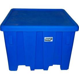 """MODRoto Bulk Container with Lid P291 - 16 Bushel 45""""L x 45""""W x 33""""H Cadet Blue"""