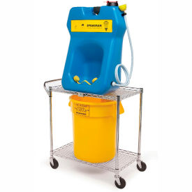 Speakman SE-4380 GravityFlo® Portable Eyewash & Transportation Cart