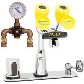 Speakman SEF-1816-TW Battery Operated Sensor Eye Saver Eyewash Faucet