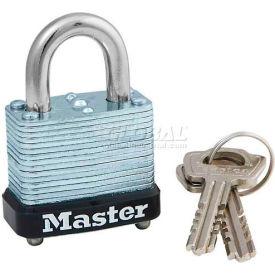 Master Lock® Warded Laminated Padlocks - No. 105ka - Pkg Qty 72