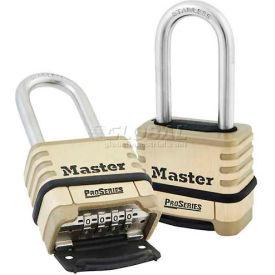 Master Lock® Proseries Bottom Resettable Combination Padlocks - No. 1175lhss - Pkg Qty 24