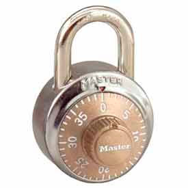 Master Lock® No. 1502GLD General Security Combo Padlock - Gold Dial