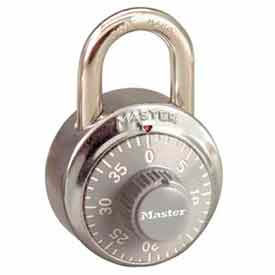 Master Lock® No. 1502GRY General Security Combo Padlock - Grey Dial
