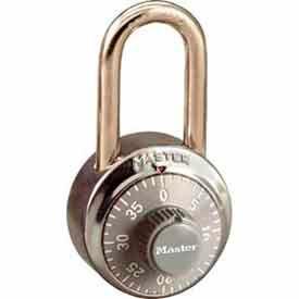 Master Lock® No. 1502LFGRY General Security Combo Padlock LF Shackle - Grey Dial
