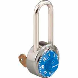Master Lock® No. 1525LHBLU General Security Combo Padlock - Key Control - Blue