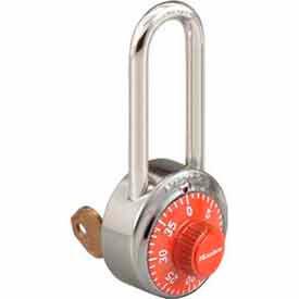 Master Lock® No. 1525LHORJ General Security Combo Padlock - Key Control - Orange