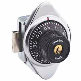 Master Lock® Built-In Combination Lock Black Dial, Right Hinged