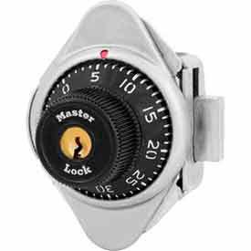Master Lock® No. 1631 Built-In Combination Lock Black Dial - Left Hinged