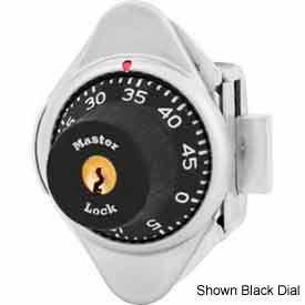 Master Lock® No. 1631MDPRP Built-In Combination Lock Purple Dial - Left Hinged