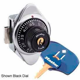 Master Lock® No. 1636MKMDBLUADA Built-In Combo Lock - ADA Compliant - Lift Handle - Blue