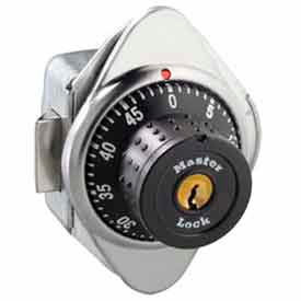 Master Lock® Built-In Combo Lock for Horizontal Latch Box Locker, Metal Dial, RH