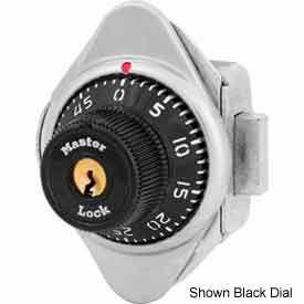 Master Lock® No. 1671MDBLU Built-In Combination Deadbolt Lock - Blue Dial - Left Hinged