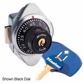 Master Lock® Built-In Combo Lock, ADA Compliant, Latch & Lift Handle-Red