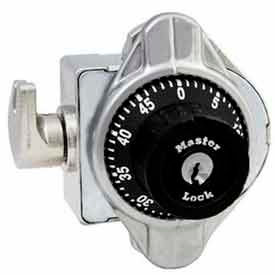 Master Lock® No. 1690MD Built-In Combination Lock - Wrap Around Latch Technology - Metal Dial