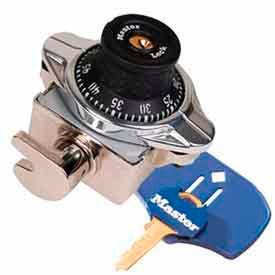 Master Lock® Built-In Combo Lock, ADA Compliant, Wrap Around Latch, Black