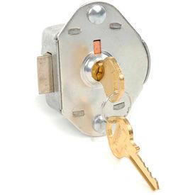 Master Lock® Built-In Key Operated Lock, Auto Springbolt Locking w/Master Key Access