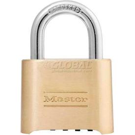 Master Lock® Bottom Resettable Combination Padlocks - No. 175 - Pkg Qty 6