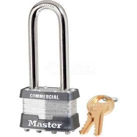 Master Lock® No. 1KALJ General Security Laminated Padlocks - Pkg Qty 3