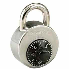 Master Lock® High Security Combo Padlock, Short Shackle Combination Alike