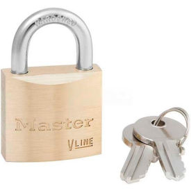 Master Lock General Security Brass Solid Body Padlocks - No. 4130