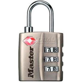Master Lock® Luggage Locks - No. 4680dnkl - Pkg Qty 24
