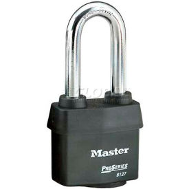 Master Lock High Security Steel Weather Resistant Covered Laminated Padlocks - No. 6127LJ