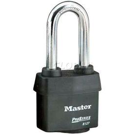 Master Lock® High Security Steel Weather Resistant Covered Laminated Padlocks-No. 6127lj - Pkg Qty 24